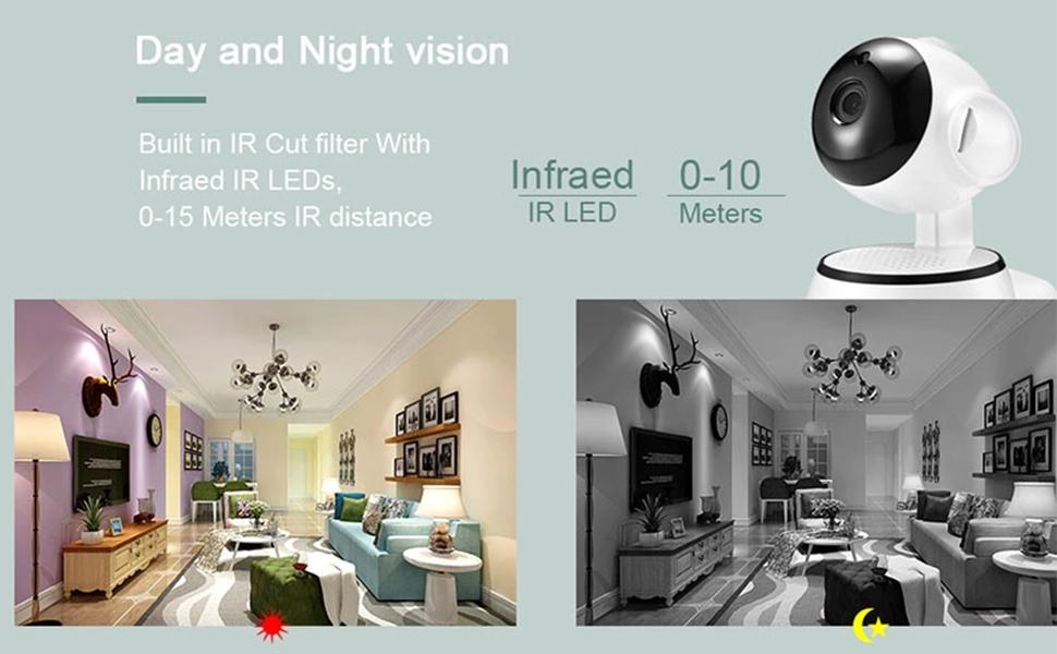 DAY NIGHT CCTV Camera