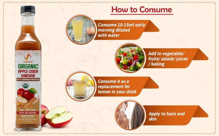 How to Consume Organic Apple Cider Vinegar