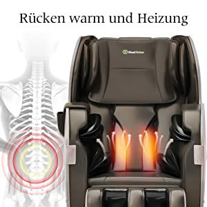 backrest heating