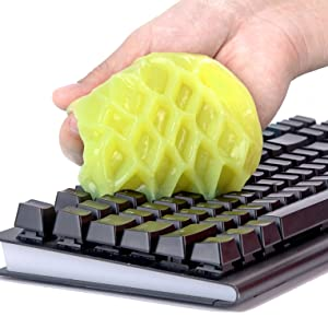 keyboard cleaner, keyboard cleaning gel, universal dust cleaning gel, dust cleaner, office cleaner