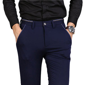 mens slim fit suit pants