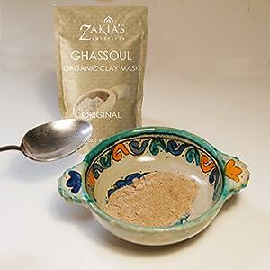 Ghassoul clay, rassoul, rhassoul, clay mask, mud mask, hair mask