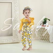littlle sister clothing set