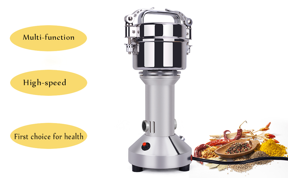 Grain mill grinder function introduction