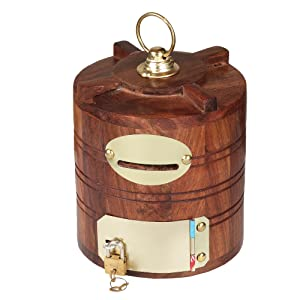 piggy bank with lock and key wooden piggy bank with lock piggy bank with lock wood piggy bank
