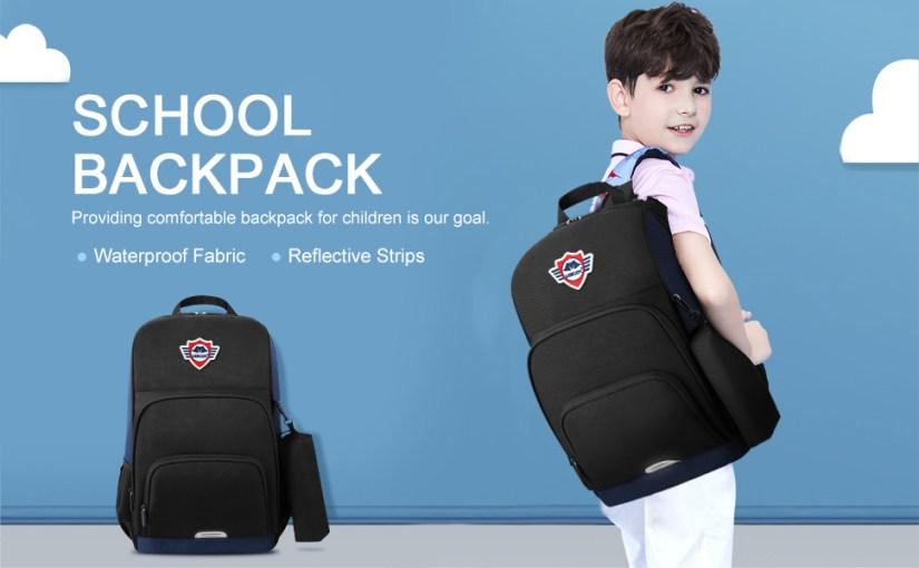 School Bag Book Bag for High Middle School