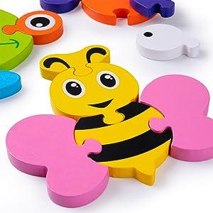 Educativo Giocattoli Giochi Set Regalo per 1 2 3 4 Anni Bambina Bimbo Ragazza Ragazzo 5 Pezzi
