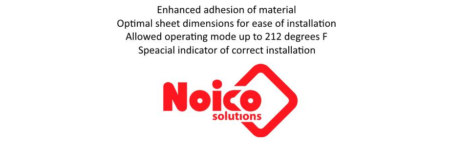 noico solutions adhesion installation operating mode indicator