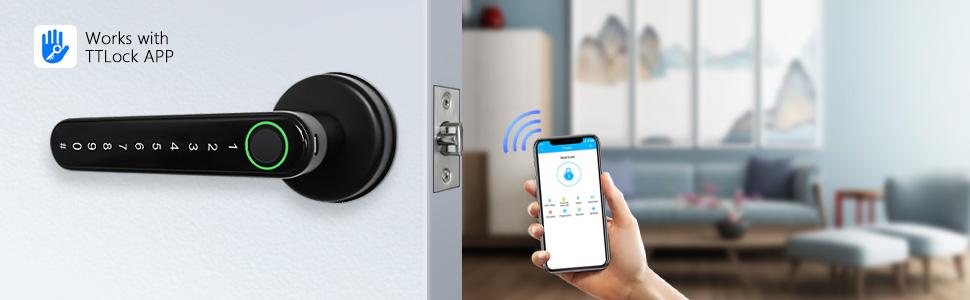 remote control door lock home