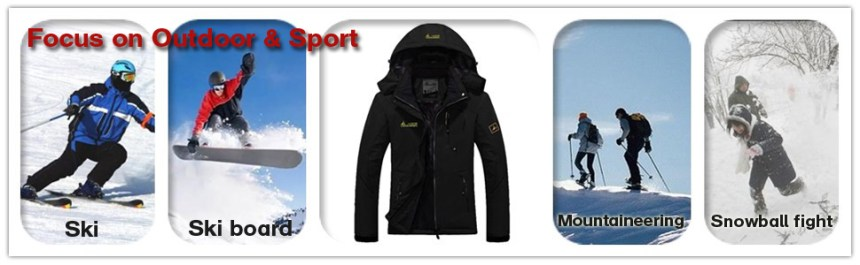 women ski jacket is best for all kinds of winter sports.