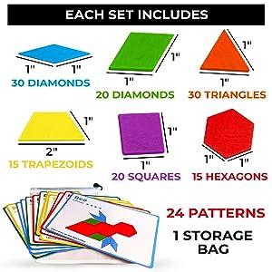 tangram tangrams learning toys for 3 year olds 4 year olds preschool toys stem toys for 3 year olds