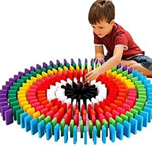 color full dominos