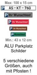 Parkplatz Schild Schilder Himmel