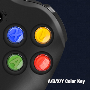 Xbox 360 Wired Controller for Microsoft Xbox 360 Dual-Vibration Turbo for PC Windows 7,8,10