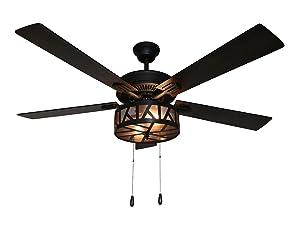 River of Goods Industrial Ceiling Fan