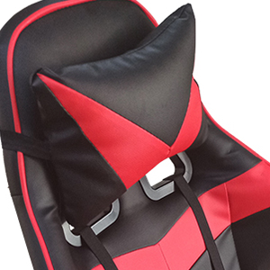 gaming chair with neck pillow
