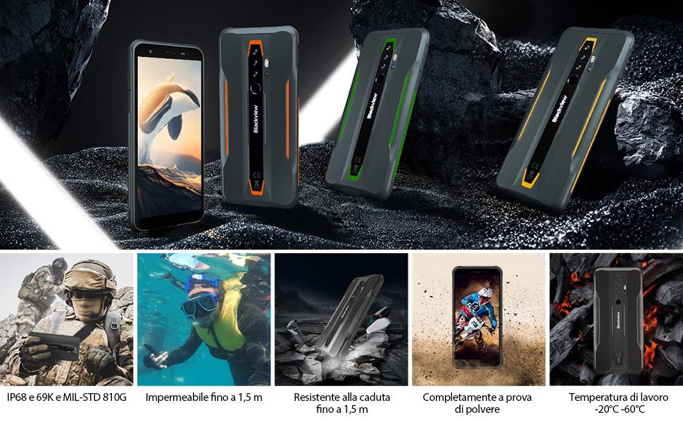 Blackview BV6300Pro rugged smartphone