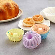 silicone cupcake baking cups