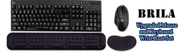 keyboard and mouse wrist rest pad