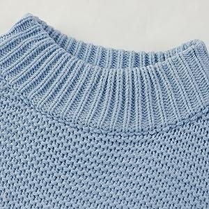 mock neck sweater top for women