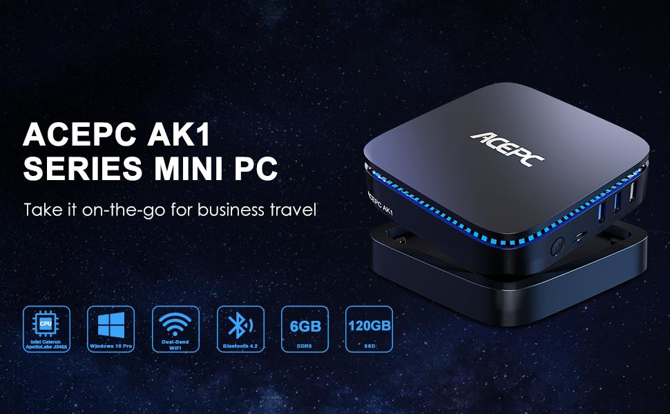 AK1 6GB 120GB Mini PC