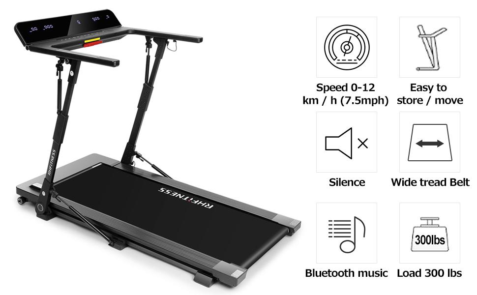Installation Free Foldable Treadmill