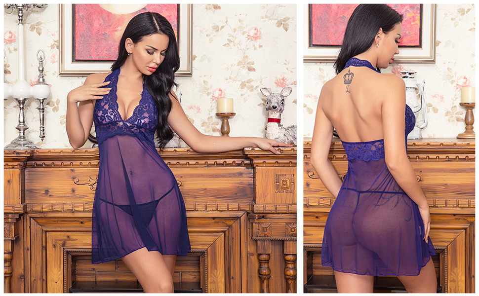 Sexy babydoll lingerie