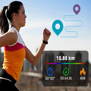 wireless gps tracker fitness watches sports watches for women