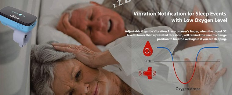 Lookee Oxygen & Heart Rate Monitor Tracker
