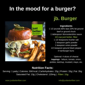 Burgers just better
