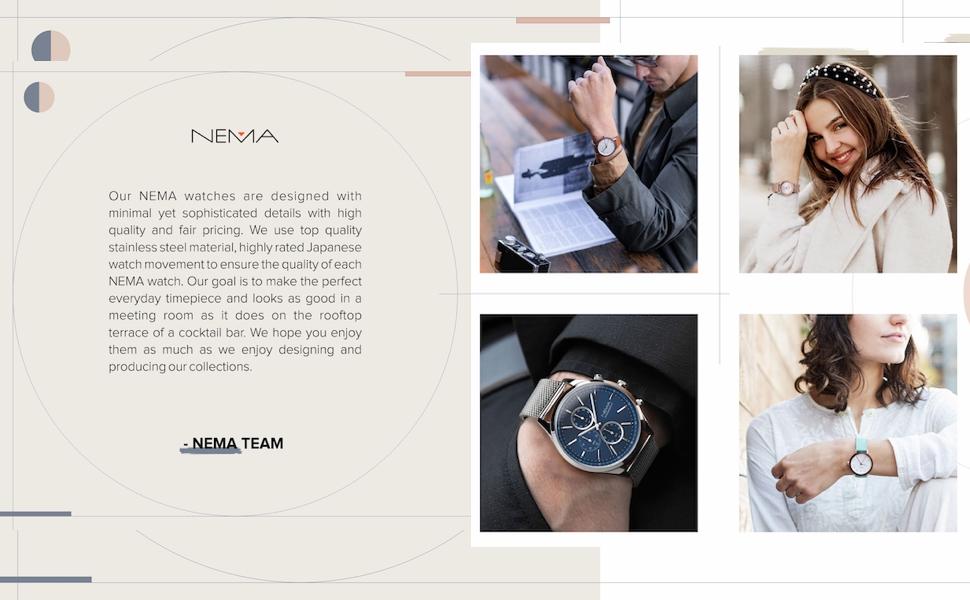 NEMA watches