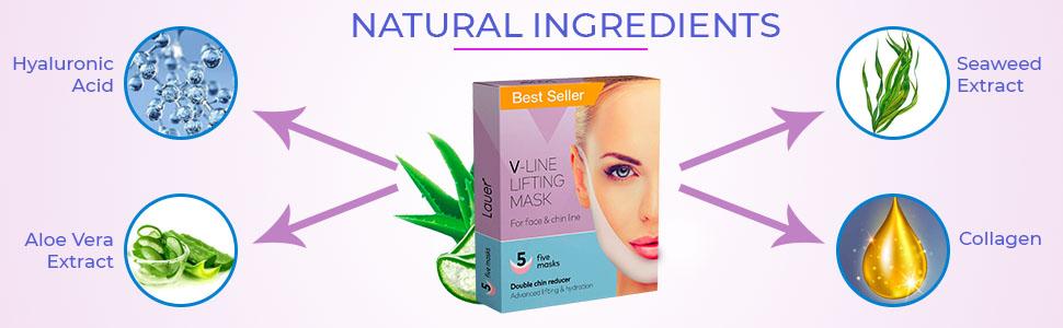 SPN-T2G V Shaped Slimming Face Mask Double Chin Reducer V Line Lifting Mask