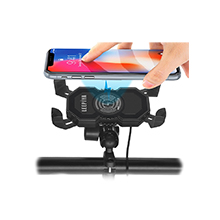 motorcycle phone holder with charger phone mount for motorcycle motorcycle phone mount