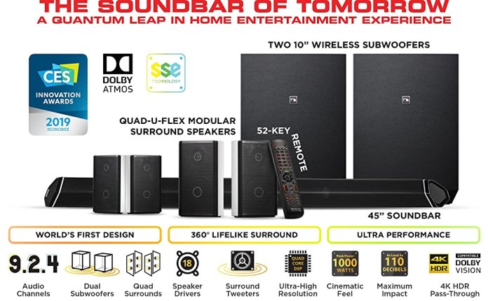 Nakamichi Shockwafe Ultra 9.2.4 SSE Dolby Atmos Sound Bar Overview