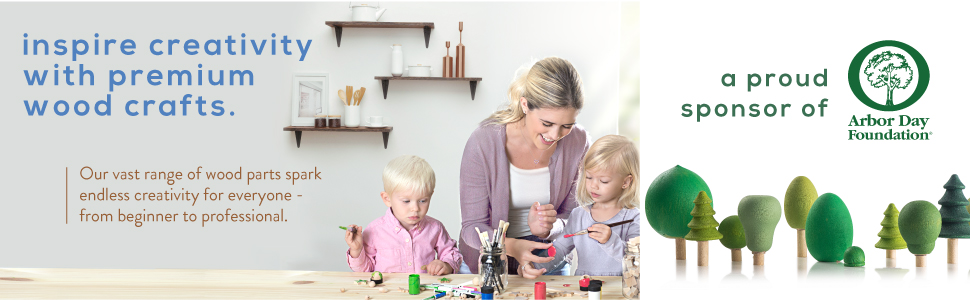 wood crafts, crafting, craft parts, crafting with kids, creativity, crafts, wooden parts