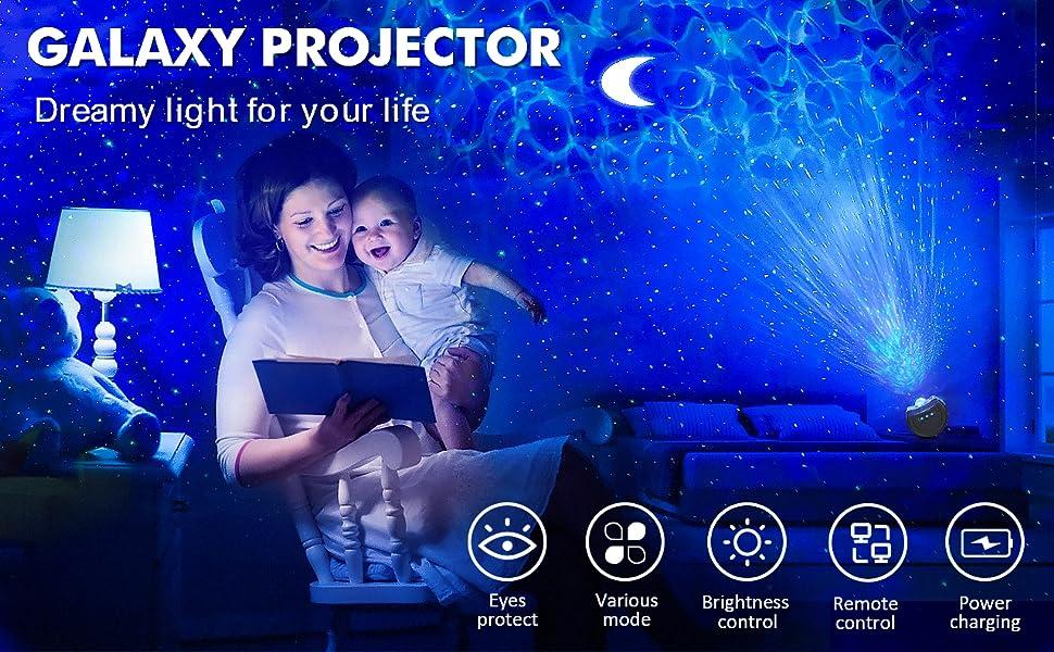 star light galaxy projector