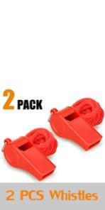 whistle, whistle,whistle with lanyard emergency hiking kids lifeguard loud metal outdoor