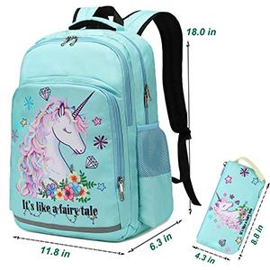 unicorn bookbag