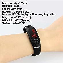 KIds Boys Led Digital watch