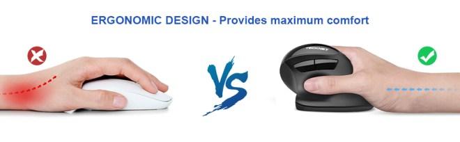 wireless mouse ergonomic