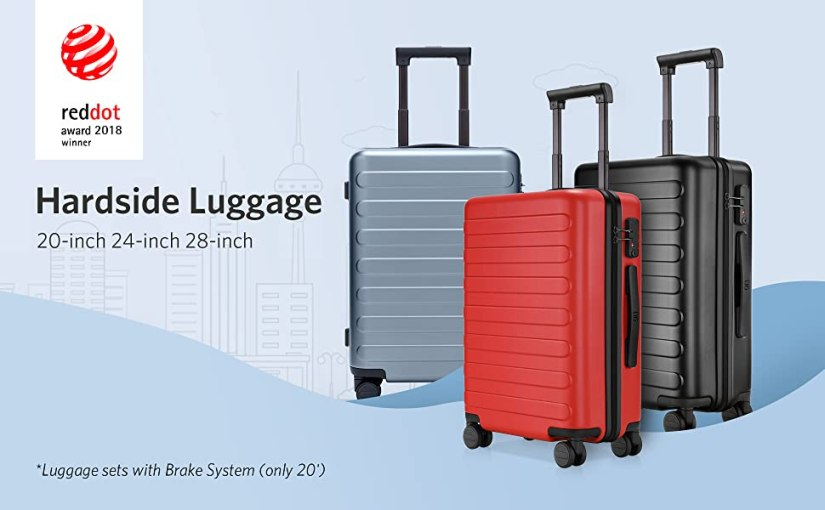 """carry on luggage 22x14x9 with spinner wheels suitcase luggage sets hardside  hardshell 20"""" cyber"""