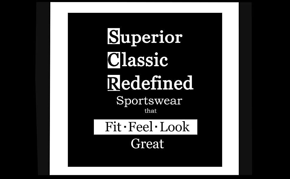 Superior Classic Redefined Sportswear SCR SPORTSWEAR clothing company brand better fit performance