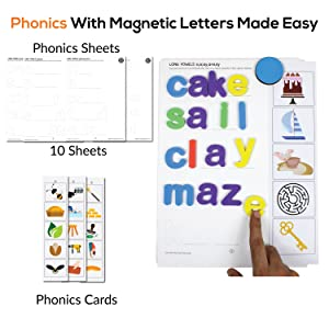 Alphabet Words Letter Magnets Capital Small Letters Magnetic Spelling Learning Educational Toys kids