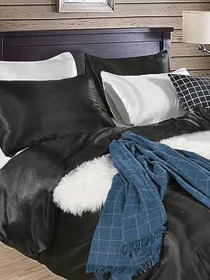 silk satin bedding