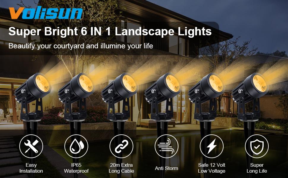 Spotlights Outdoor Landscape Lights