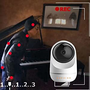 motion dettection, PIR,wireless security camera,security camera system,home security camera system,