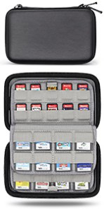 nintendo switch game cards carts cartridge holder ps vita sd storage case