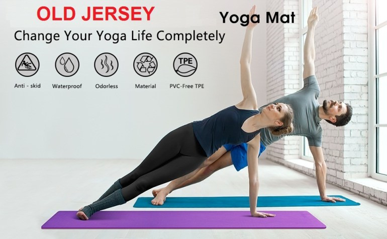 non slip yoga mat yoga mat purple yoga mat pink colour women yoga mat printed yoga mat printed for