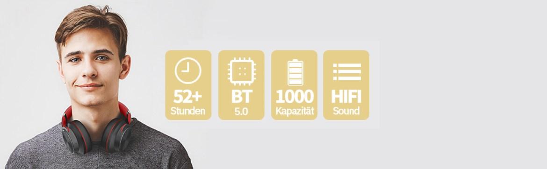 Bluetooth Kopfhörer Over Ear
