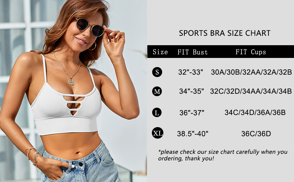 Longline Sport Bra for Women breathable stretchy high eleastic comfy comfortable athltic supportive